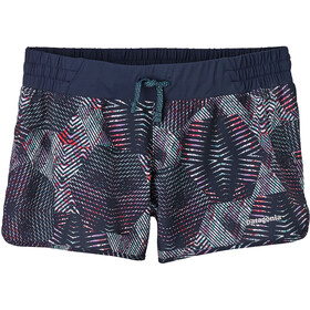 Patagonia Nine Trails Shorts Dame tech hex: navy blue